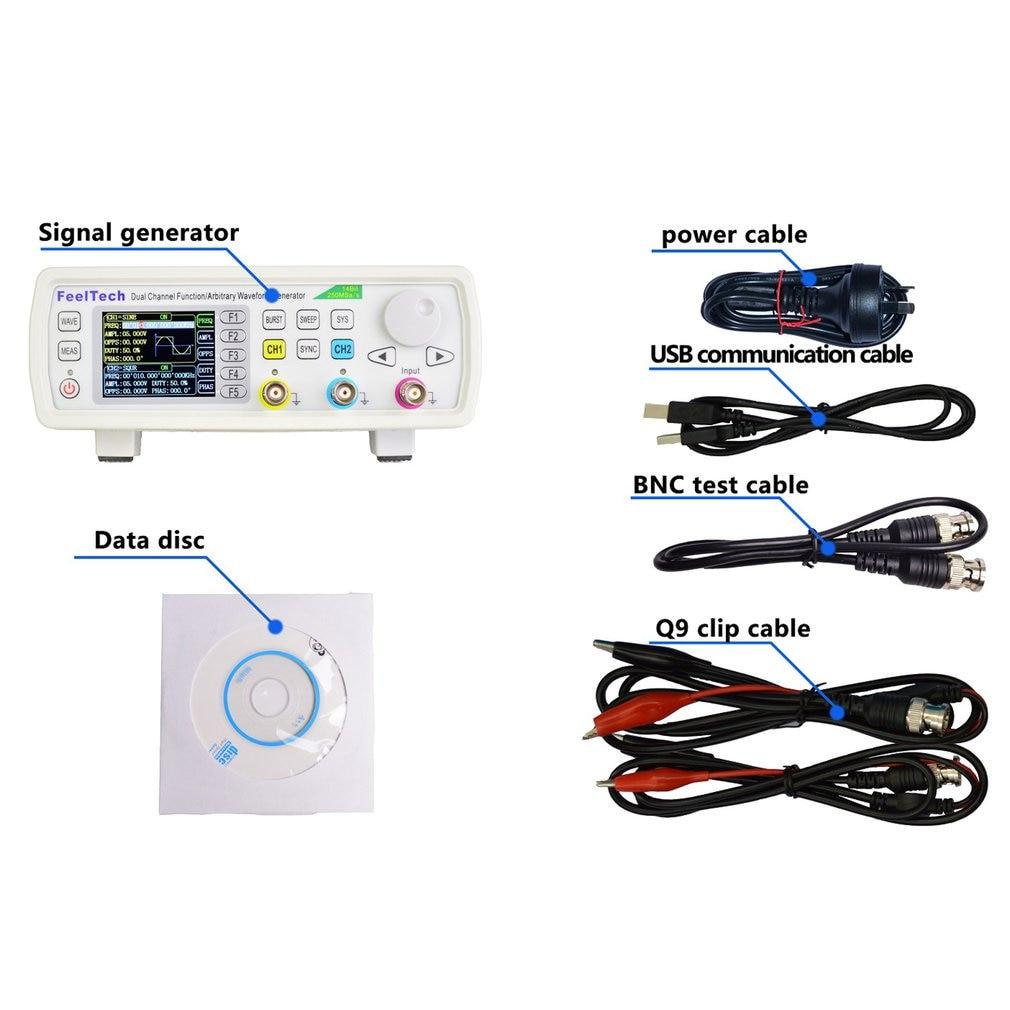 FellTech FY3200S 6 МГц цифровой DDS двухканальный генератор сигналов произвольной формы/импульсный частотомер США