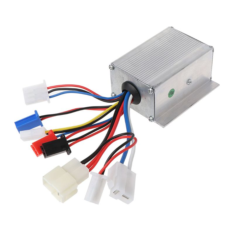 DC 24V <font><b>250W</b></font> Motor Brush Speed Controller for E-Bike <font><b>Electric</b></font> Bike Bicycle <font><b>Scooter</b></font> image