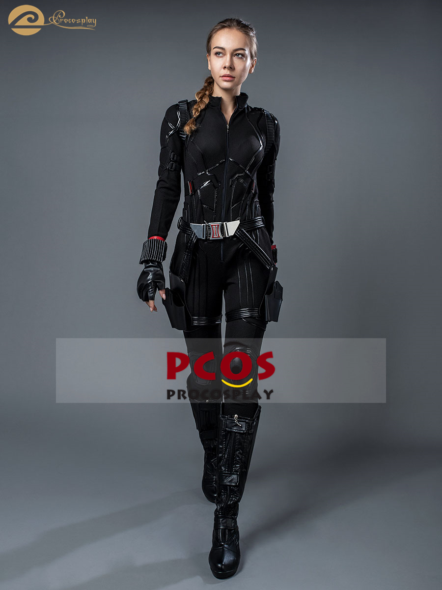 LE S.H.I.E.L.D. Natasha Romanoff cosplay veuve noire cosplay déguisement Avengers: costume cosplay final pas de chaussures mp004309
