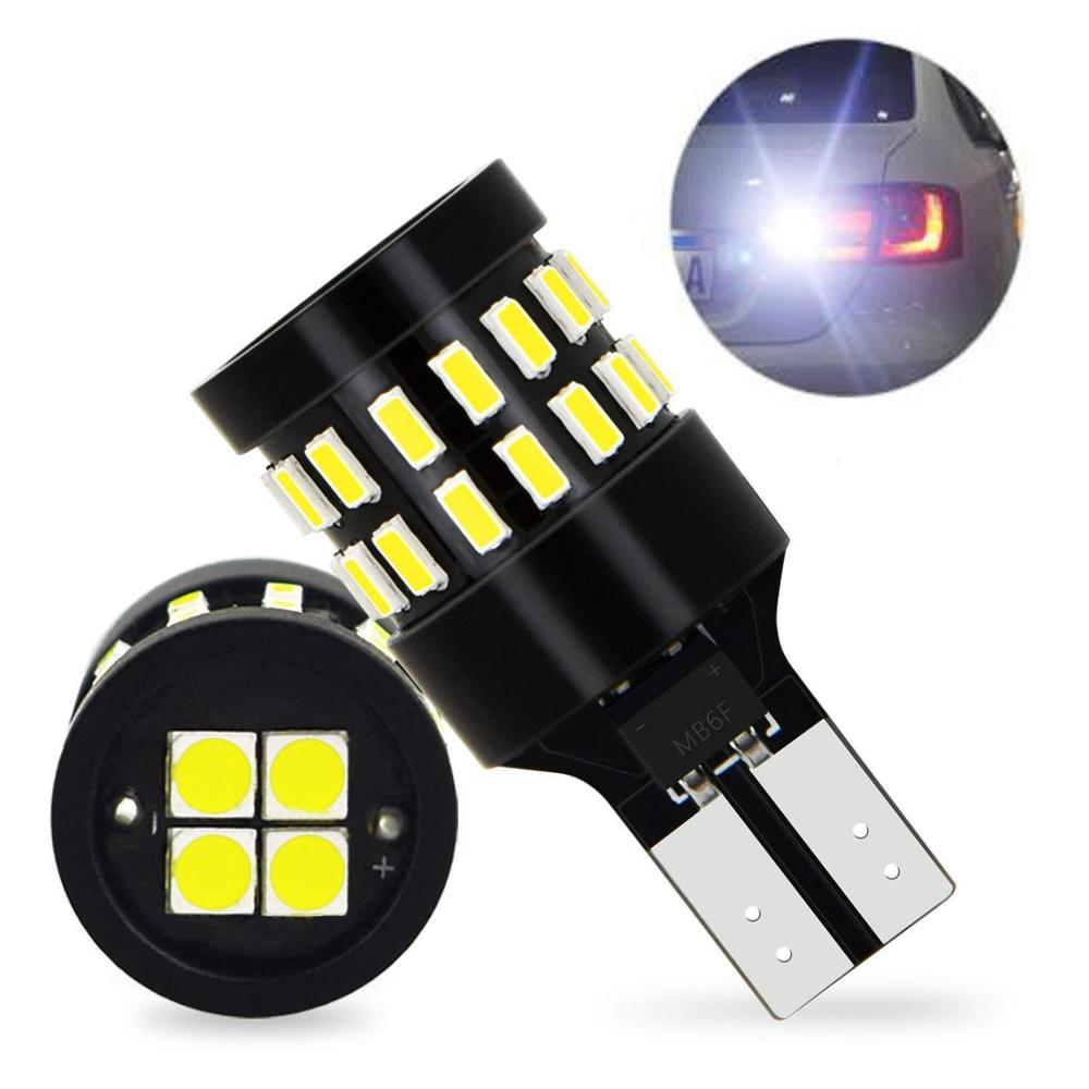 2PCS W5W <font><b>T10</b></font> LED Canbus Bulb <font><b>3014</b></font> <font><b>30SMD</b></font> Car Clearance Parking Position Lights Singal Lights For bmw E60 E90 Golf 7 image