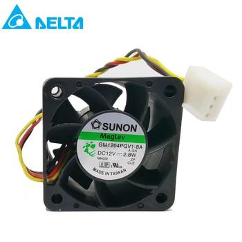 For Sunon GM1204PQV1-8A 12V 2.8W 4CM 4028 3-line 1U 2U server fan 9200rpm 14CFM 2u 6 disk hot plug server chassis rm21706 2u industrial chassis