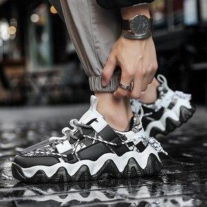 Image 2 - Huấn Luyện Viên Người Giày Beathable 2019 Thể Thao Thời Trang Cho Nam Ngoài Trời Giày Tenis Masculino Krasovki Chất Lượng Cao Ayakkabi