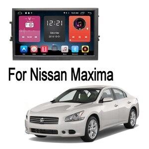 Jogador multimídia do carro gps navegação 2 din para nissan maxima 2009 2010 2011 2012 android bluetooth wifi fm jogador de rádio