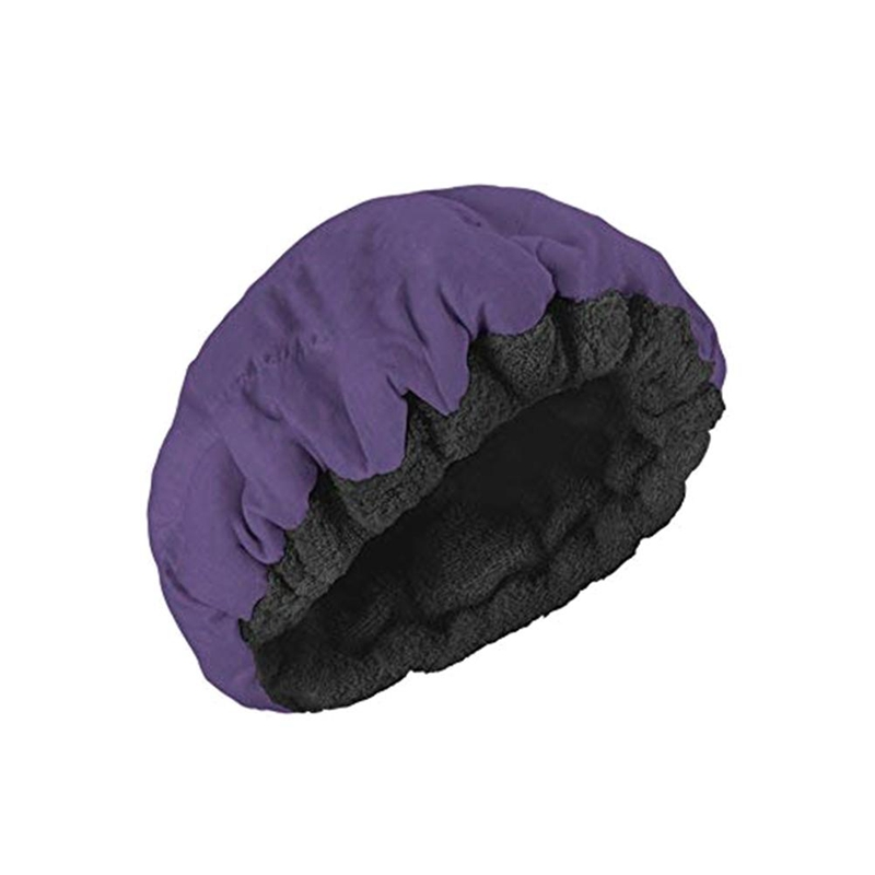 Deep Conditioning Heat Steam Cap Microwavable Micro-Hair Cap Hair Thermal Treatment Cap for Styling Tools