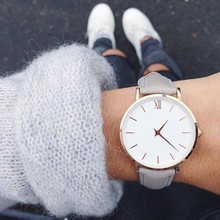 2019 New Fashion Simple Women Watches Casual Ladies Leather