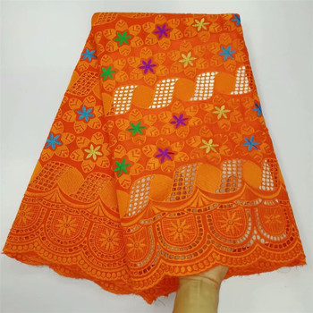 African Cotton Swiss Voile Lace Fabric High Quality With Stones Swiss Voile Lace In Switzerland African Lace Fabric