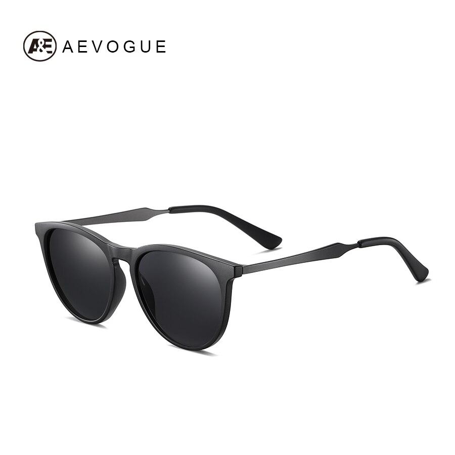 AEVOGUE New Women Polarized Korean Fashion Sunglasses Men Driving Retro Outdoor Glasses Brand Design UV400 AE0816 11