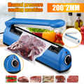 230 мм 300 Вт импульсный силовой аппарат для термосклеивания запайки кухонного пищевого герметик Вакуумный пакет герметик пластиковый пакет ...