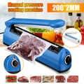 230mm 300W Pulse Power Sealer Wärme Abdichtung Maschine Küche Lebensmittel Sealer Vakuum Tasche Sealer Plastic Bag Verpackung Werkzeuge UNS EU Stecker