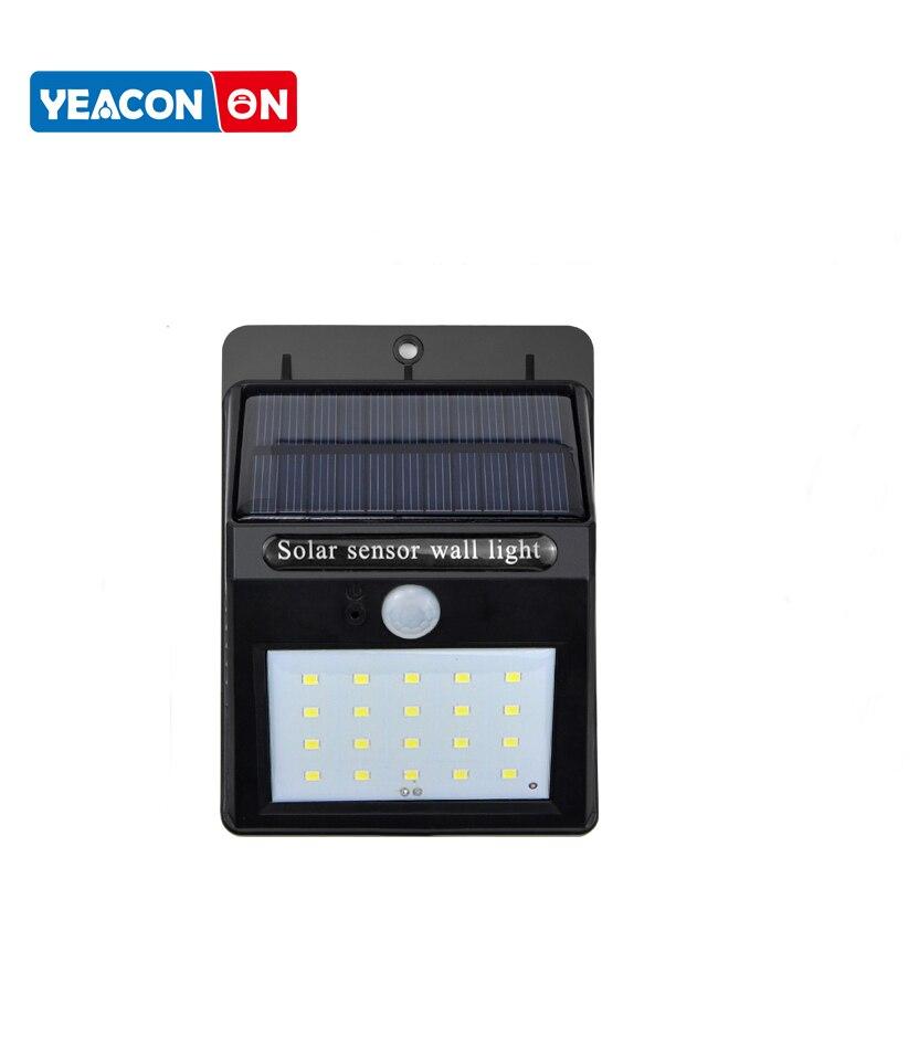 100 LED Solar Light Outdoor Lighting LED Solar Lamp PIR Motion Sensor Garden Light Solar Power Wall Light Street Lamp Waterproof