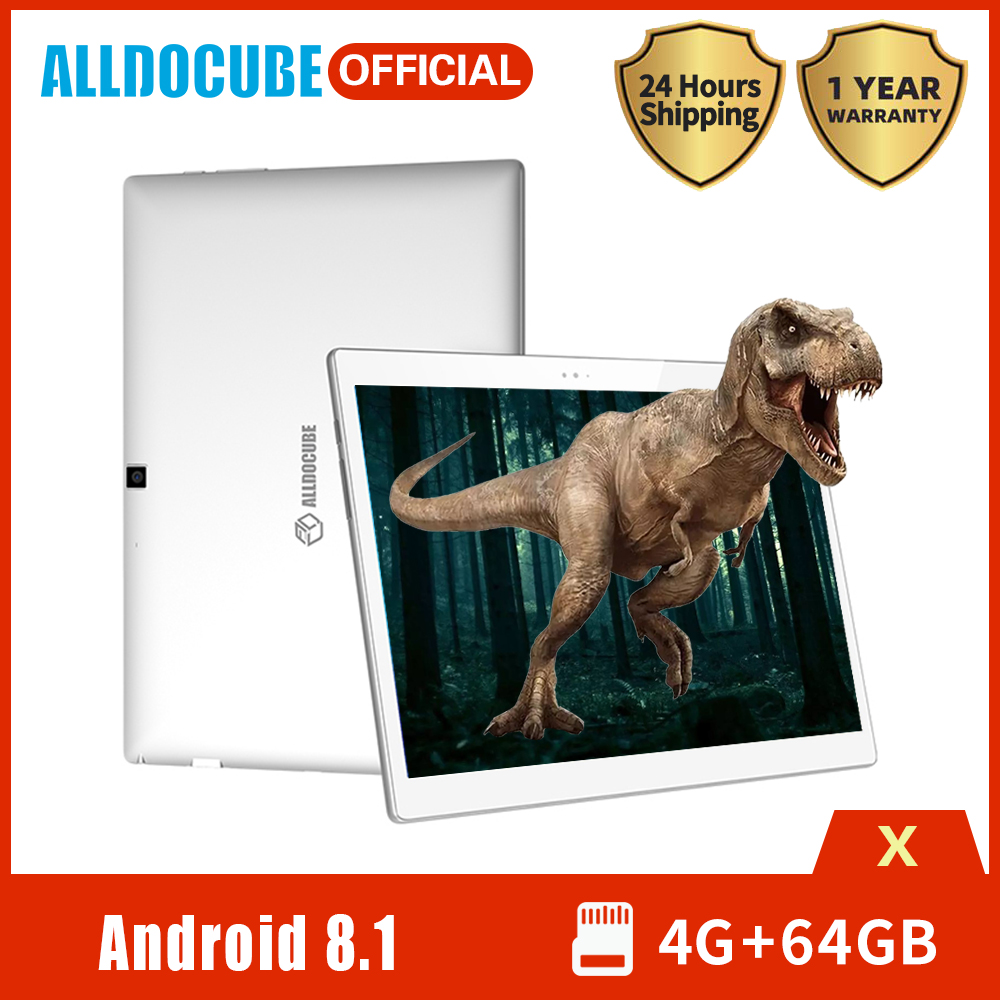 2020 ALLDOCUBE X Tablet PC 10.5 inch AMOLED Screen MTK 8176 Hexa Core 4GB RAM 64GB ROM Android 8.1 Wifi BT4.0 image