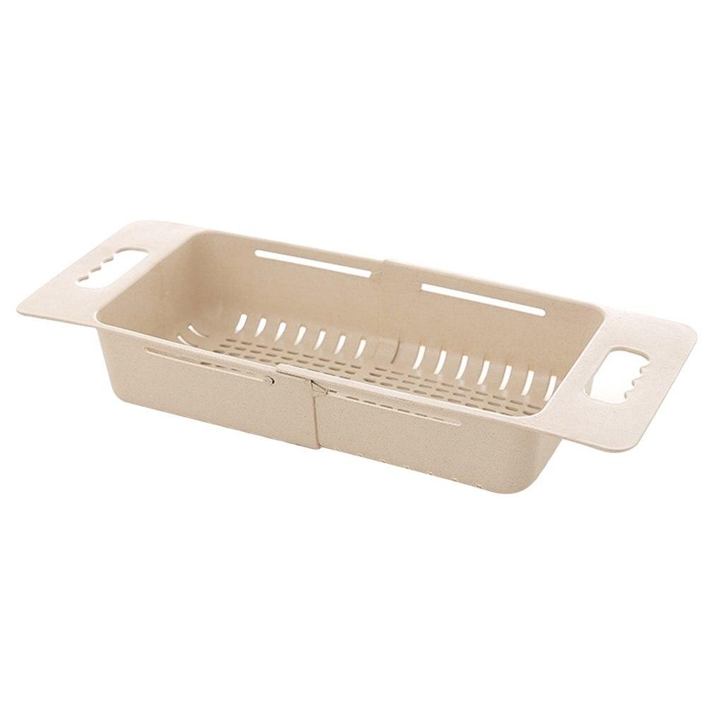 Retractable Adjustment Sink Telescopic Washing Basket Washing Fruit And Vegetable Basket Kitchen Drain Basket Groentenmand