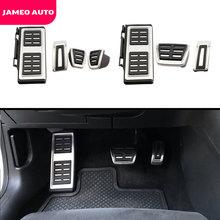 Jameo Авто спортивный топливный педаль тормоза крышка педали Restfood для Фольксваген новый Jetta MK7 7th Gen 2019 2020 LHD аксессуары
