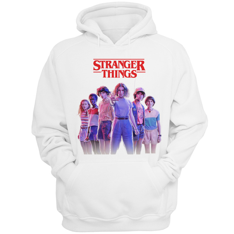 Stranger Things Season 3 Men Winter Hoodies Tops Fashion Male/women Sweatshirt Warm Hip Hop New Upside Down Funny Print Cartoon