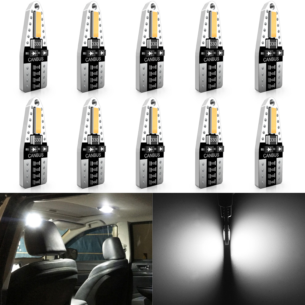 Katur W5W voiture intérieur dôme lumière liseuses T10 LED Canbus ampoule pour Ford Focus 2 3 Fiesta MK2 MK3 Mondeo MK4 Fusion Ranger