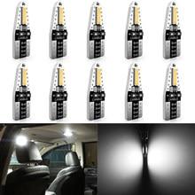Katur W5W Auto Interieur Lichtkoepel Leeslampjes T10 Led Canbus Lamp Voor Ford Focus 2 3 Fiesta MK2 MK3 mondeo MK4 Fusion Ranger