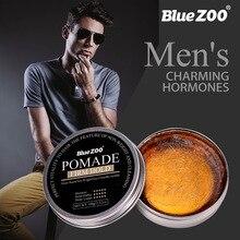 Blue ZOO Мужской Твердый удерживающий помаду гель для волос воск для волос мужской стойкий сухой стерео Тип s Тип Волос Бальзам масло воск для укладки волос