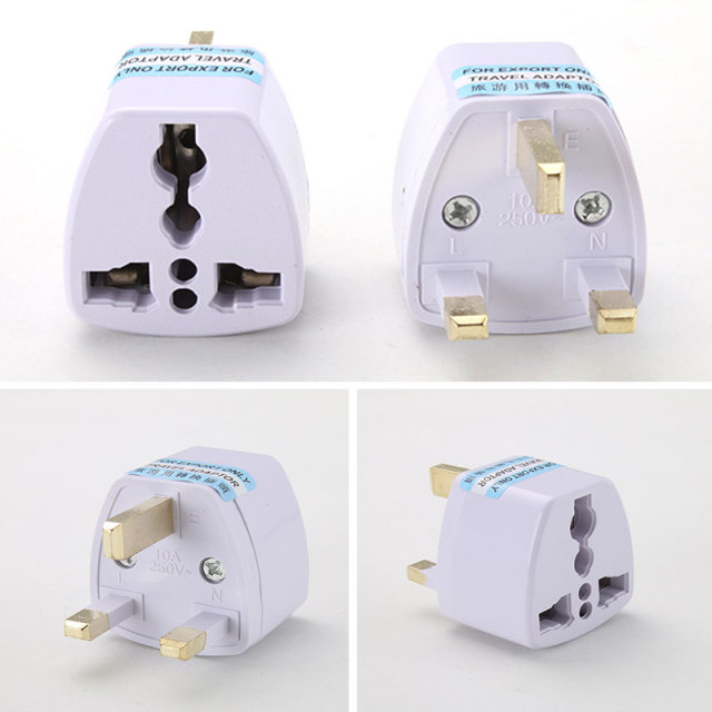 To Universal UK New Converter Gadget Consumer Electronics  UK Plug convert to Universal Plug 4