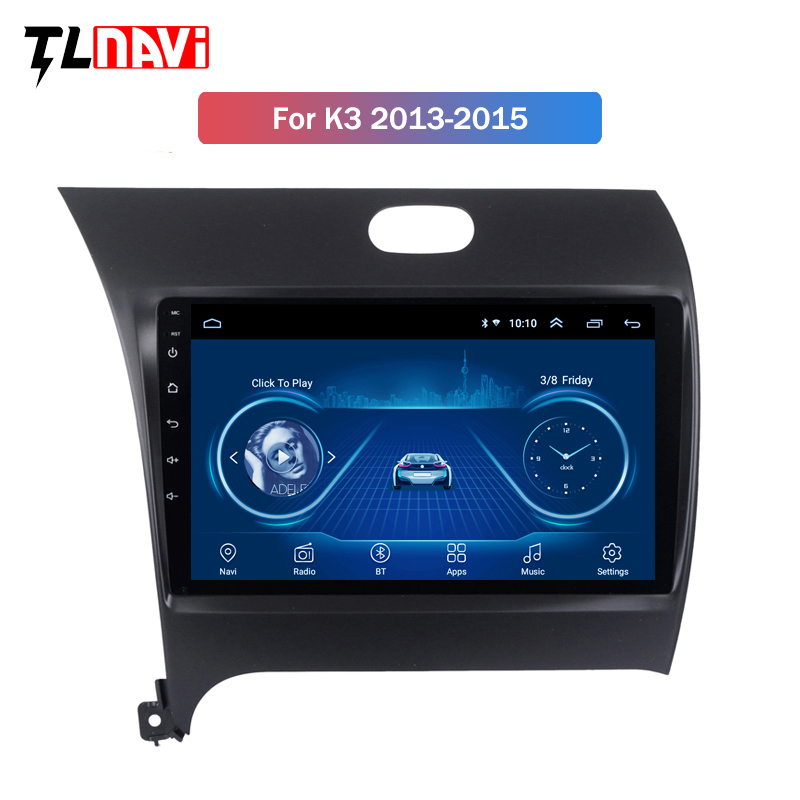 Android 8.1 Auto GPS Radio Head Unit Für <font><b>KIA</b></font> <font><b>K3</b></font> CERATO FORTE 2013 <font><b>2014</b></font> 2015 2016 GPS Multimedia Player Spiegel Link image