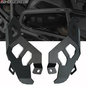 Image 1 - CNC 알루미늄 먼지 오토바이 배기 머플러 파이프 보호기 열 방패 커버 F650 GS F700 GS F800 GS R1200 GS