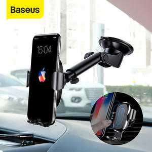 Baseus Wireless-Charger Charging-Phone-Holder-Stand Samsung S9 iPhone X Car 2-In-1 No