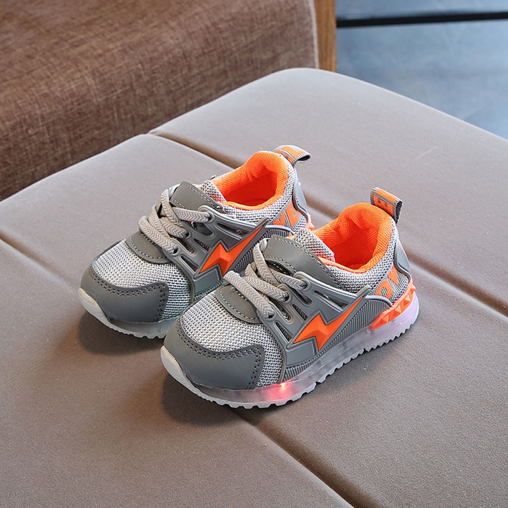 2019 New Autumn Children Shoes Unisex Toddler Boys Girls Sneakers Mesh Breathable Fashion Casual Kids Shoes Size 21-30#3