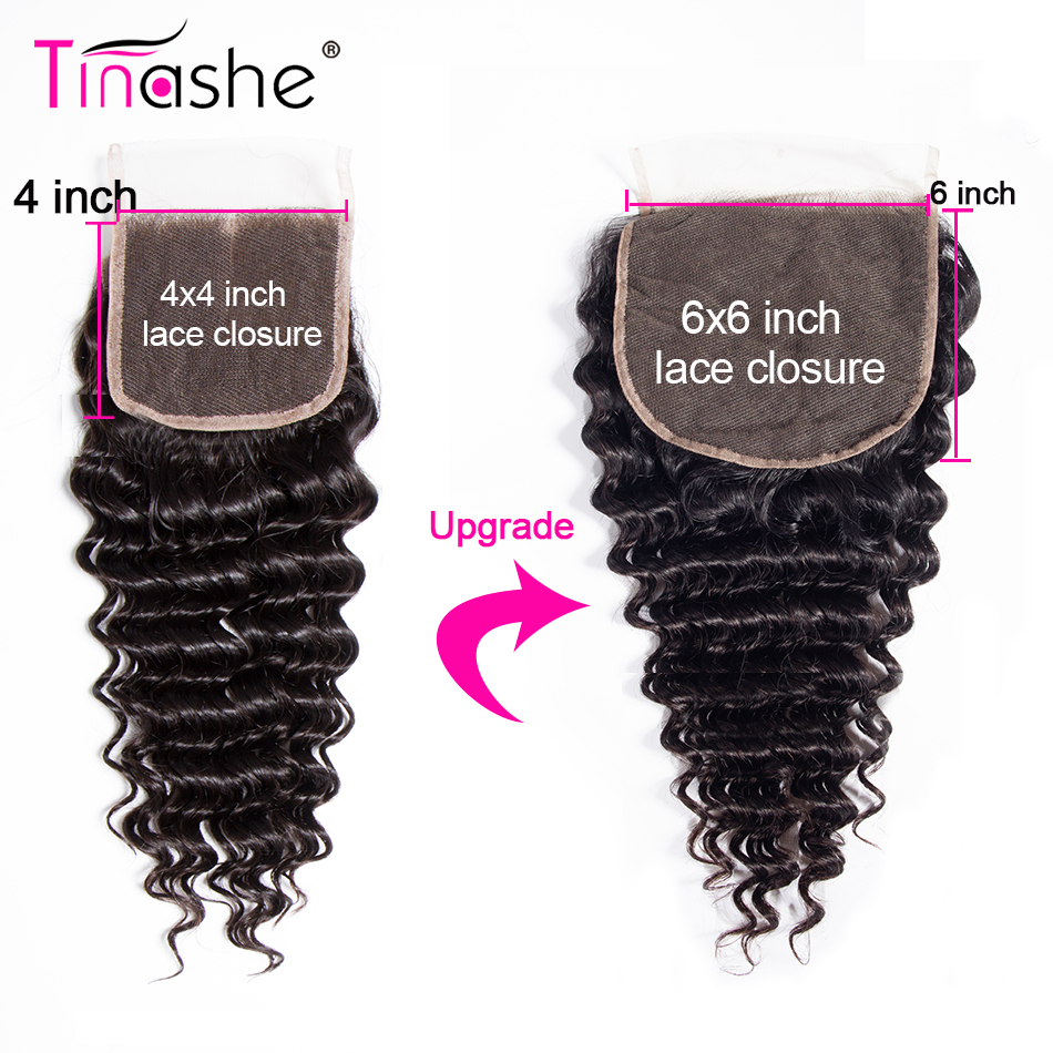 H0a6995d68ee442a3bf61f90f3a32d0079 Tinashe Deep Wave Bundles With Closure 5x5 6x6 Lace Closure And Bundles Remy Brazilian Human Hair Weave 3 Bundles With Closure