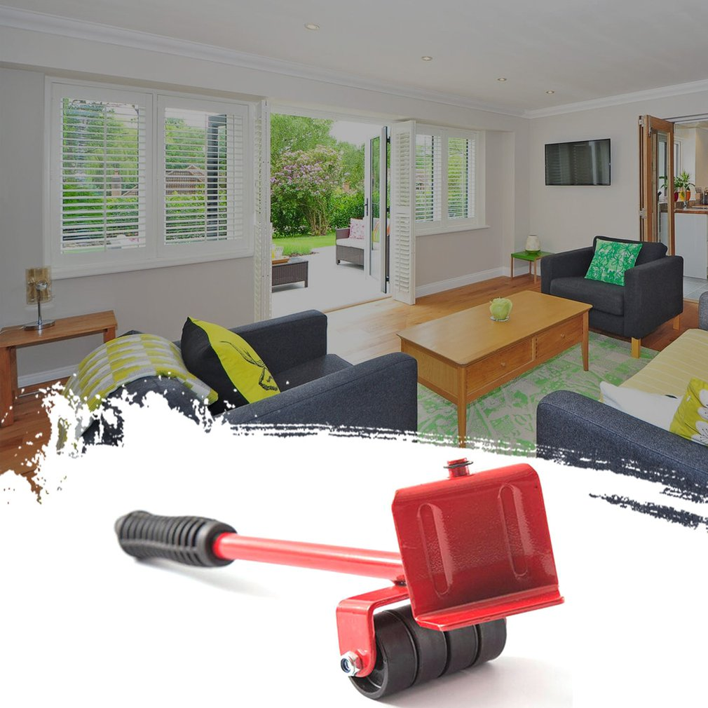 Heavy Object Mover Moving Tool Moving Tool Artifact Furniture Moving Mat Plastic Handling Tool Professional Portable
