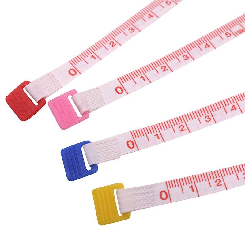 Случайный цвет 1 шт. мягкая лента для измерения 150 см рулетка измерительная лента выдвижной цветной портативный линейка сантиметр дюйм