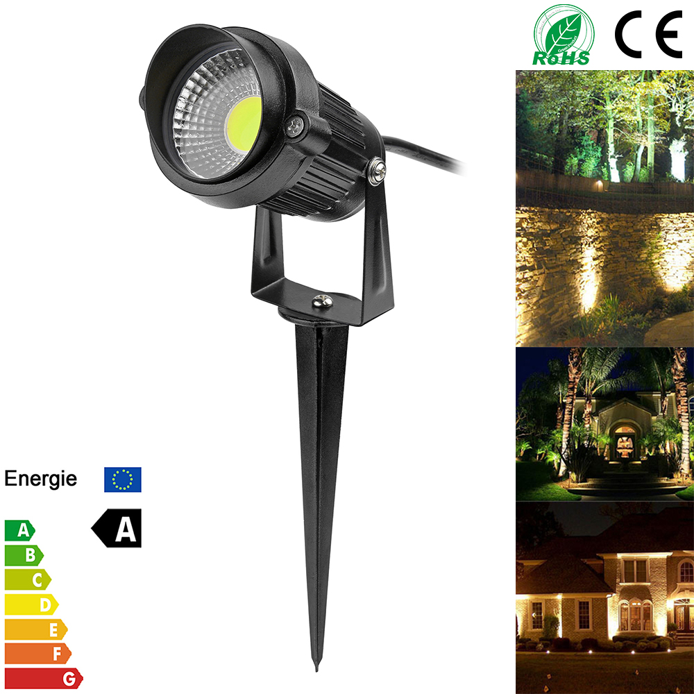 3W Waterproof Spike Landscape Led Light 110V 220V Landscape Spot Light IP65 Outdoor Landscape Led Spike Light For Garden