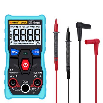 Cyfrowy multimetr DC AC woltomierz miernik prądu miernik z diodą Test ciągłości automatyczny wielofunkcyjny Anti-Burn FP tanie i dobre opinie centechia CN (pochodzenie) Digital multimeter