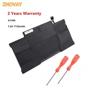 A1496 Laptop Battery for MacBook Air 13 Inch A1466 (Mid 2012 Mid 3013 Early 2014) A1369 (Late 2010 Mid 2011) 7.6V 7150mAh A1377