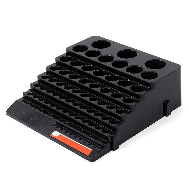 70x220x200mm Plastic Milling Cutter Storage Box Tap Reamer Turning Tool Holder Drill Bits Storage CNC Lathe Tool