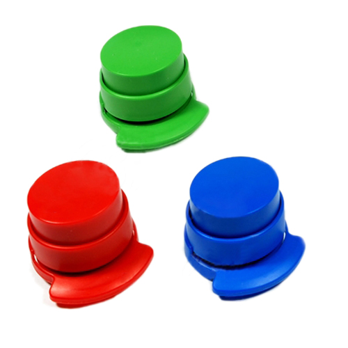 3pcs  Free Stapler Paper Binding Binder Office Student Stationery