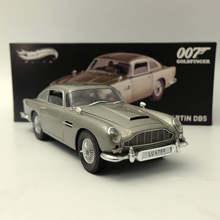 Коллекция HotWheels 1:18 Модель машины Aston-Martins DB5 Goldfinger 007 JAME BONDs BLY20, игрушечный подарок в оригинальной коробке