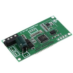 Image 2 - 2020 חדש PLL LCD דיגיטלי FM רדיו מקלט מודול 87 108MHZ אלחוטי מיקרופון סטריאו