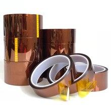 Fita adesiva resistente ao calor 10mm do filme da poliimida da isolação da fita de alta temperatura de 30 medidores x 5-40mm