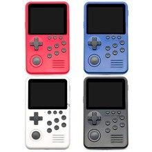 M3S Mini Handheld Spielkonsole Spieler Gebaut-in 1500 + Spiele 16 Bit Retro Smart Video Gaming 4G TF Karte Geschenk 77UA