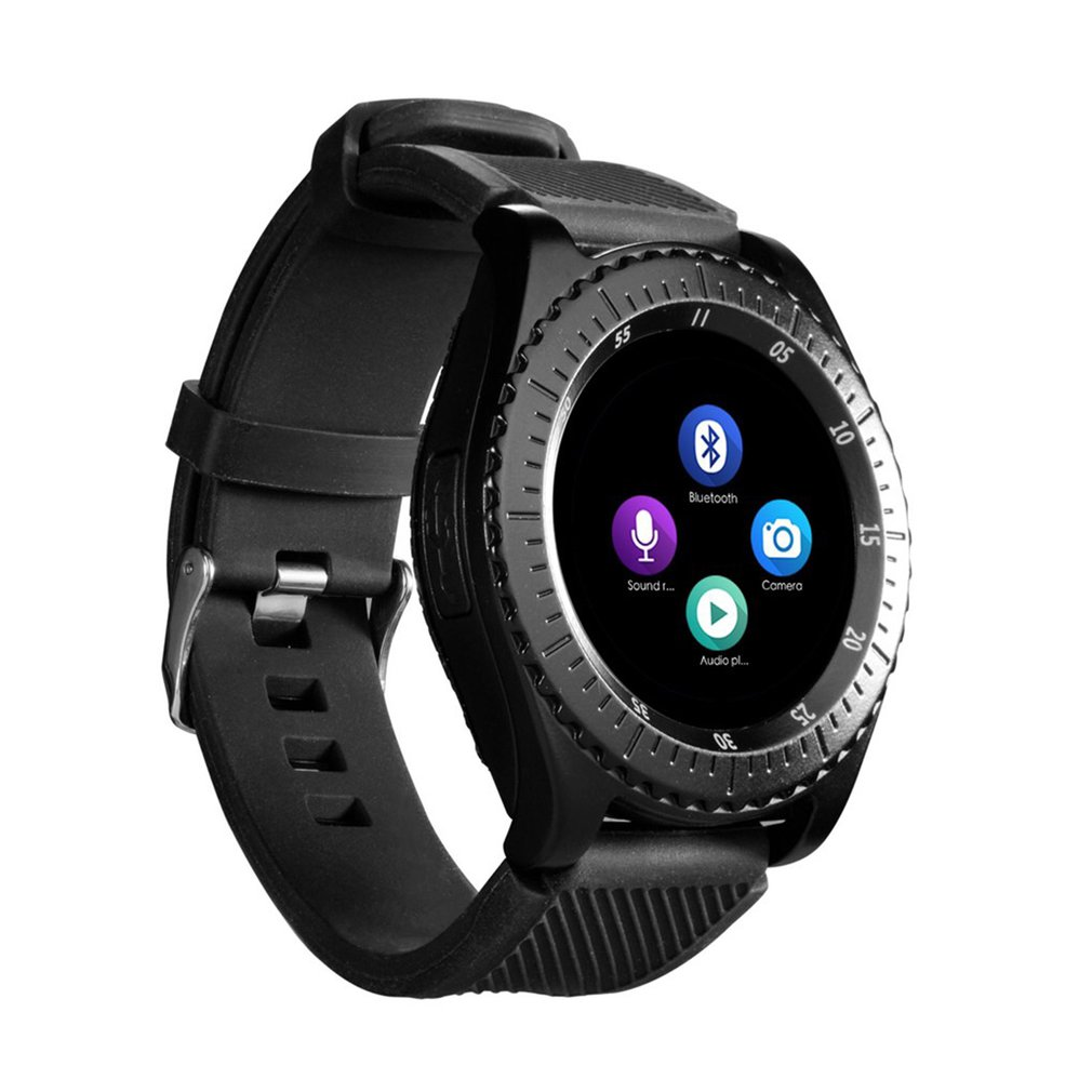 Z3 Bluetooth Smartwatch Built-in Camera Sports Watches Men Fitness Tracker Pedometer With Anti-Sweat Band Support SIM Card
