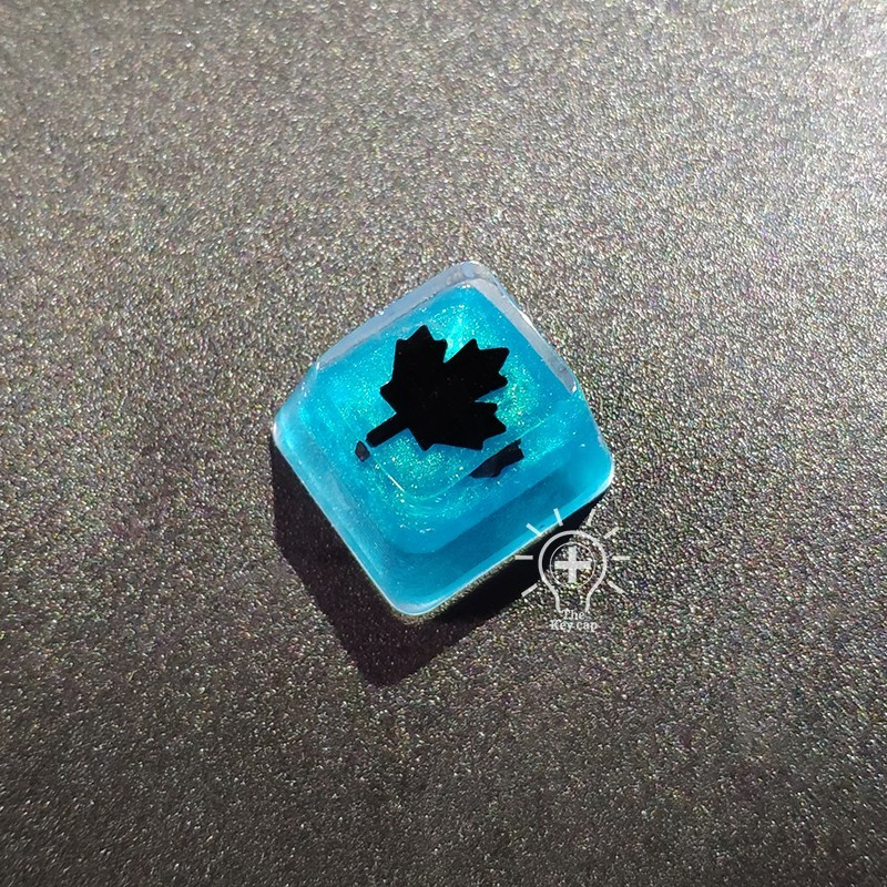 1pc Handmade Resin Keycap For MX Switch Mechanical Keyboard Keycaps For Black Ice Skin Backlit Key Cap