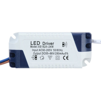 Transformatory oświetleniowe 3W-24W AC85-265V prąd stały 240mA LED Driver plastikowa powłoka do lampy nowe akcesoria oświetleniowe tanie i dobre opinie CN (pochodzenie) Brak 7-88V ROHS plastic over voltage Constant Current 90-265V