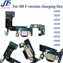 10pcs USB Charging Dock Connector Flex Cable For S5 S6 S7edge S8 S9 Plus G920F G925F G925i G930F G935F G950F G955F G960F G965F
