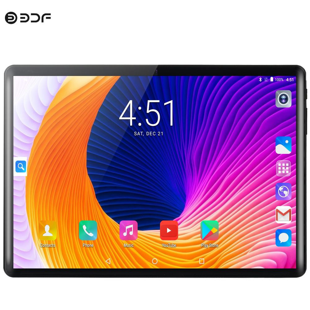 10 Inch Tablets Pc Android 9.0 Dual SIM Card 3G 4G LTE Ten Core 8G RAM 128G ROM WiFi Bluetooth Sim Card GPS Google Store Tablet