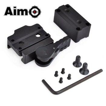 Aim-O Softair Riflescope Base AD MRO низкий и высокий/Riser co-witness высота CNC крепление для Trijicon Прицел AO1790 охотничья оптика