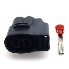 5 sets 2 Pins 2.0mm Female For Kia Ignition Coil Ignition Coil Connector CVVT Fuel Injector Connector Wiring Harness plug стоимость
