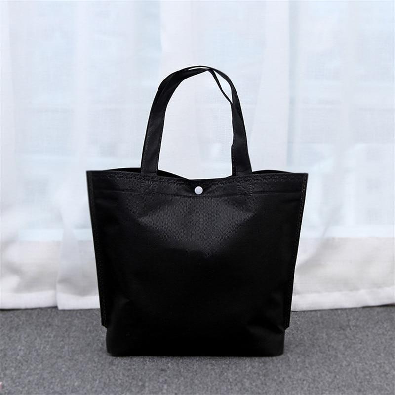 Female Canvas Shopping Bags Foldable Shopping Bag Reusable Tote Pouch Women Travel Storage Handbag Shoulder Bag Book Bag