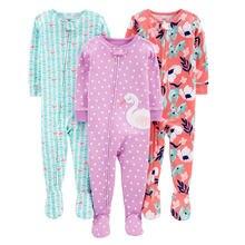 Хлопковый комбинезон на весну и лето Облегающий пижама для мальчиков