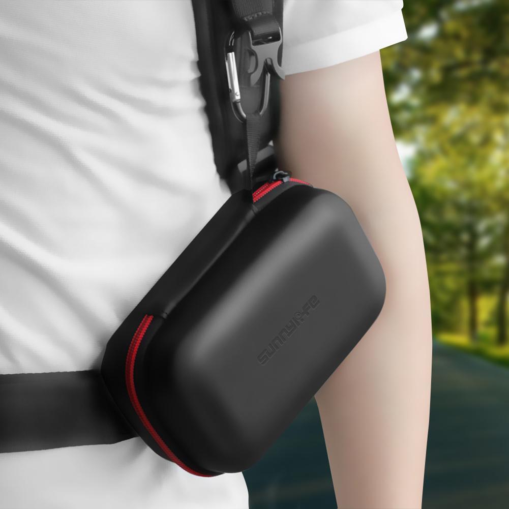 2pcs Waterproof Hardshell Case Handbag PU Storage Box For DJI Mavic 2 Pro Zoom  Remote Controller Receiving Pack 25x14.3x10.4cm