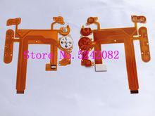Nouveau bouton de clavier couvercle arrière LCD câble flexible pour Nikon D7000 pièce de réparation dappareil photo numérique