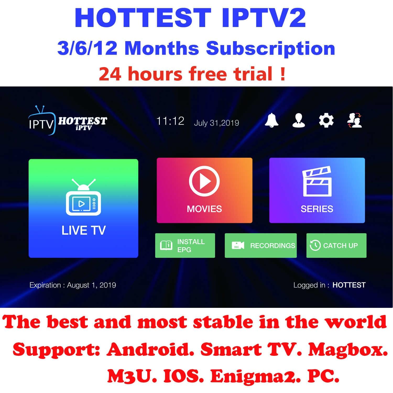 Arapça fransızca portekizce hollandaca almanca İtalya İspanya latin brezilya belçika İsveç abd CA IPTV abonelik android tv kutusu M3U